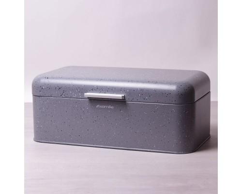 Хлебница Kamille 1108/s 42х23,5х16,5 см. серый мрамор.