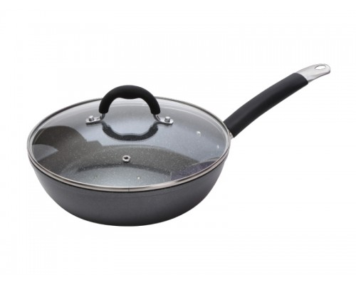 Сковорода-Вок Bergner 3284 Masterpro диаметр 24х6,5 см.